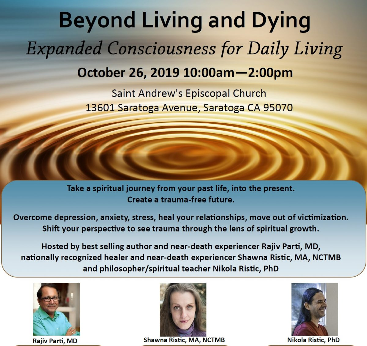 Beyond Living & Dying – an experiencer panel