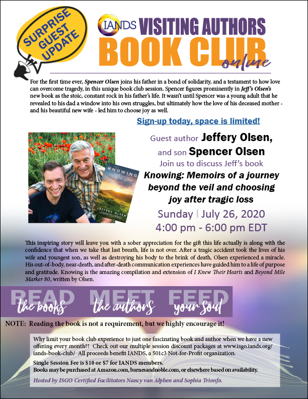 See Jeff Olsen and son, Spencer Olsen, together at this event!
