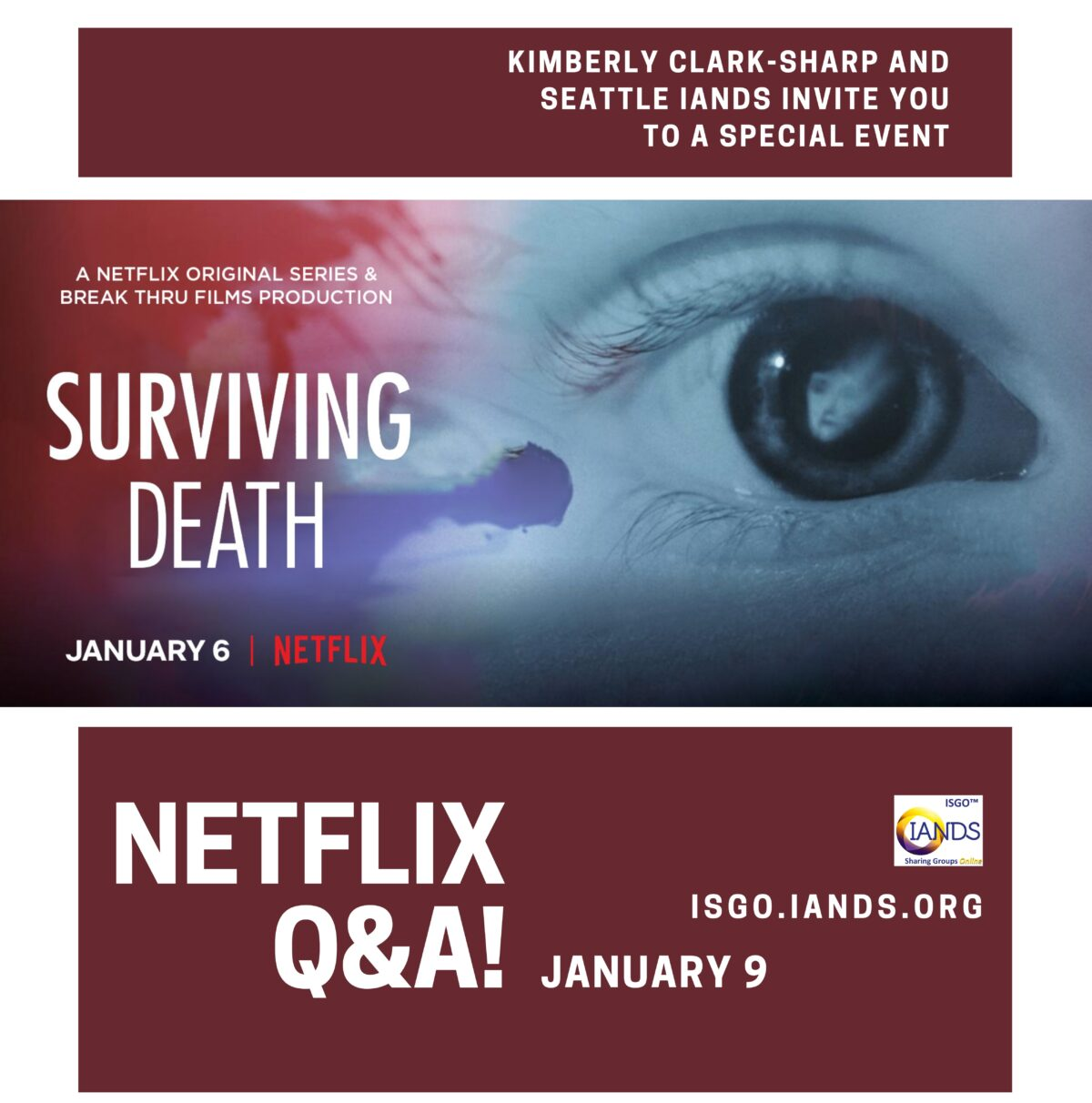 "Q&A Discussion of ""Surviving Death"" Netflix Special on NDEs"