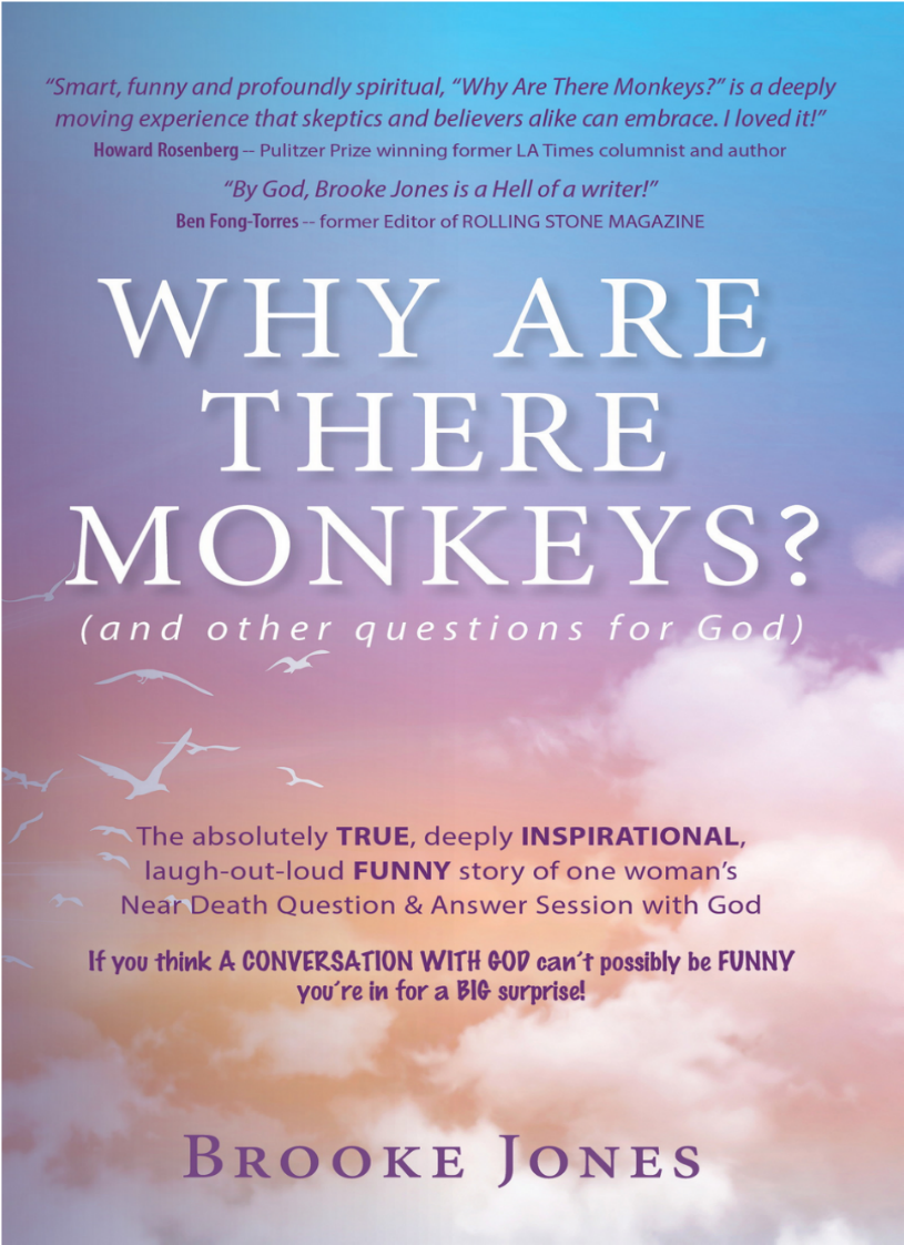 """Why Are There Monkeys?"" — the TRUE story of the STRANGEST & FUNNIEST NDE EVER! by Seattle IANDS"