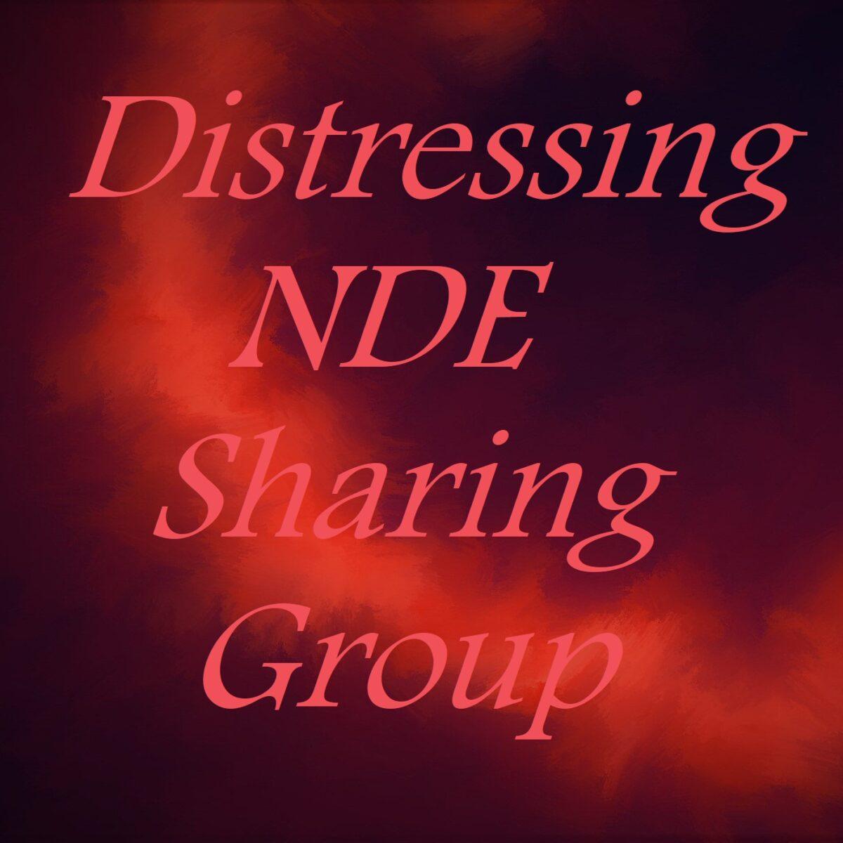 Distressing NDE Sharing Group